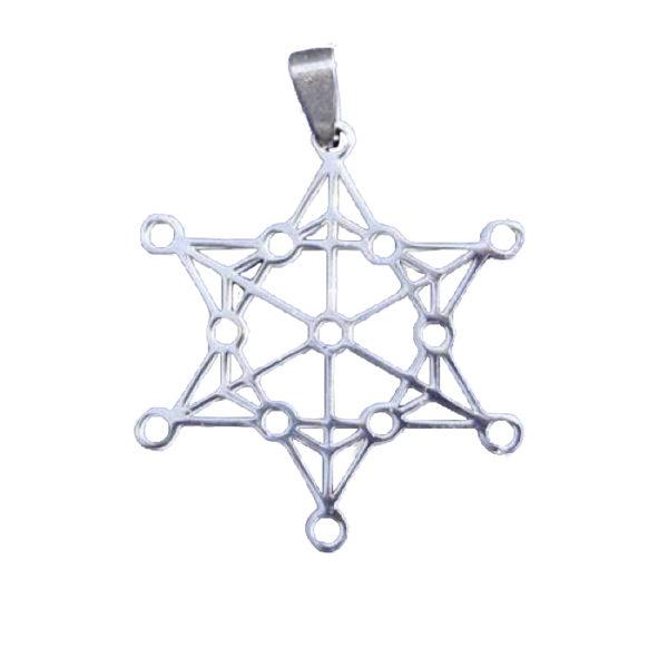 Haute vibration et vitalité pour ce pendentif étoile
